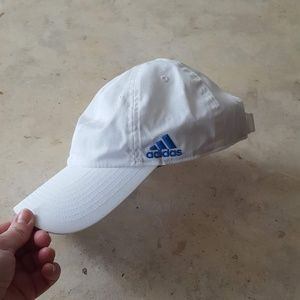 White Adidas Ball Cap